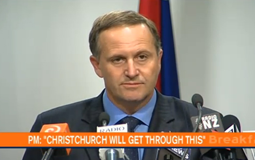 John Key Declares National State of Emergency