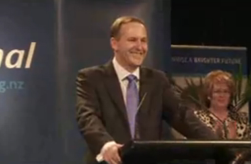 John Key Speaks Following Election
