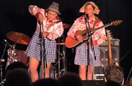 The Topp Twins: Gingham Sisters