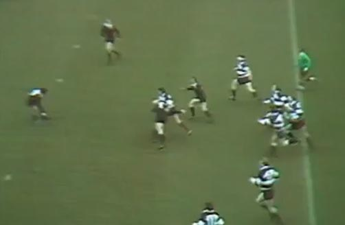 1973: All Blacks vs Barbarians