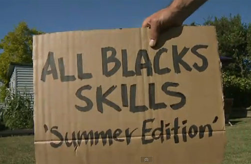 All Blacks: Summer Skills