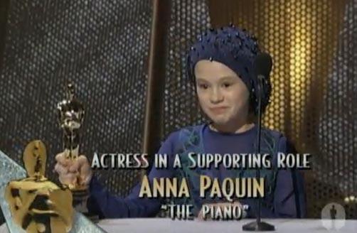 Anna Paquin Wins Oscar