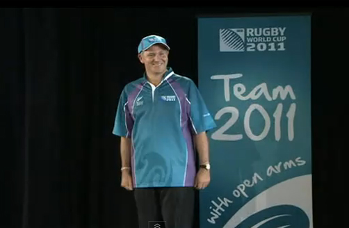 John Key Models RWC Uniform