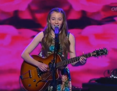 NZ's Got Talent Semi-Final: Clara Van Wel