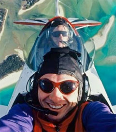 Flipping out in a Biplane