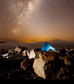 Speed Stargazing over Tongariro