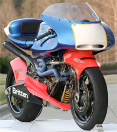 Britten Bike Revs Up for Isle of Man Lap