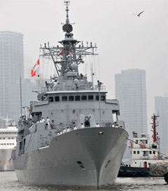 Royal NZ Navy Revisits Shanghai
