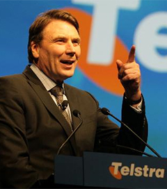 Telstra-CEO Explains his Trans-Tasman Upbringing