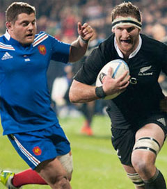 French Left Scoreless with All Black Aerial Bombardment