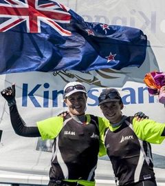 New Zealand Sailing Team Wins 2013 World Womens 470 Championship