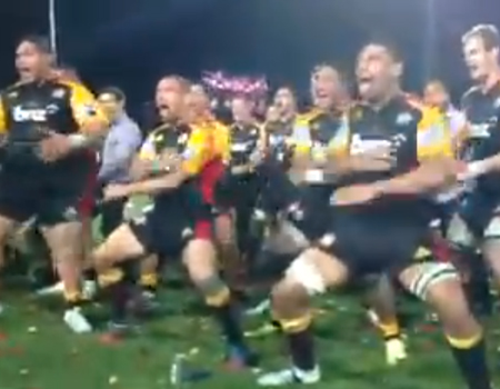 Chiefs Haka – Super Rugby Final 2013