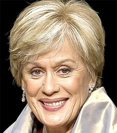 Dame Kiri Becomes Dame Melba on Downton