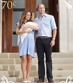 Prince George Gets His Own NZ Post Stamp