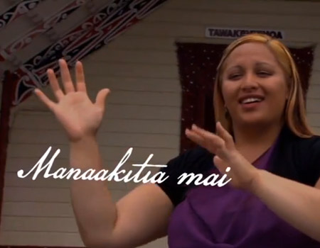 New Zealand National Anthem in NZSL (Sign Language), Maori & English