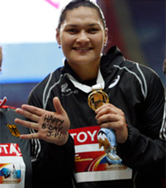 Valerie Adams Wins Fourth Straight Word Championship Title