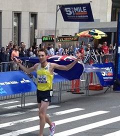 New Zealand Olympian Wins Fifth Avenue Mile