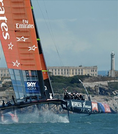 Emirates Team New Zealand Win Four of First Five Races