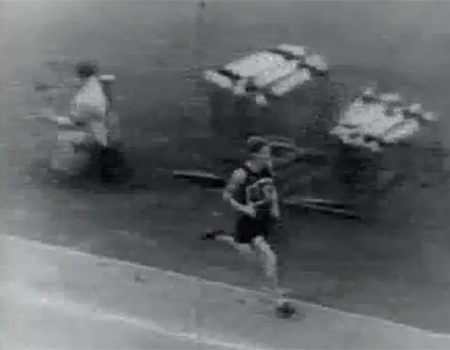 Jack Lovelock Wins Gold at 1936 Berlin Olympics