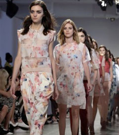 Feminine in Work Wear at NY Fashion Week