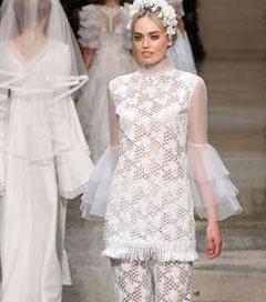Fashion Forward Wedding Attire