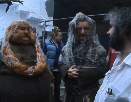 The Hobbit: Behind the Scenes – Production Video Blog Part 11