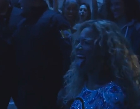 Beyoncé Welcomed By Haka