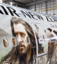 Air New Zealand Brings Passengers to Middle-earth
