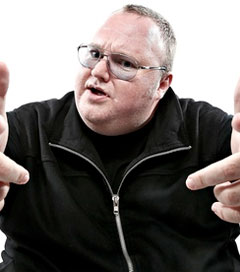 Dotcom Has His Own Party, and Dance Moves