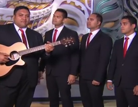 Pokarekare Ana in the style of The Modern Maori Quartet