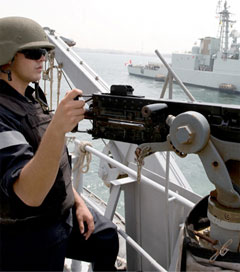 Frigate Deployed for Anti-Piracy Exercise in Gulf of Aden