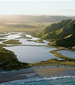 Shaping New Zealand's landscape