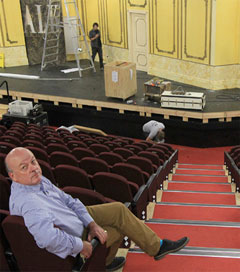 Pioneering People Who Value Community Rebuild a Theatre