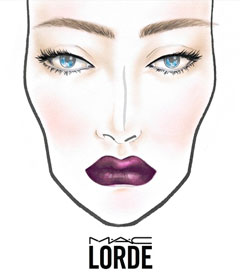 MAC Makeup Range in Lorde's Name