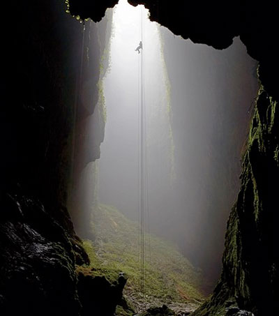 Descending Deep into Waitomo's Lost Cave