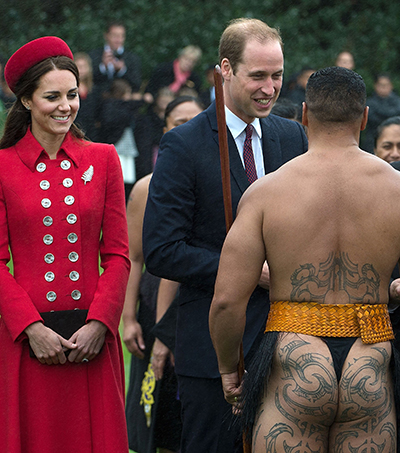 Royal Visit Shines Global Light on Maori Traditions