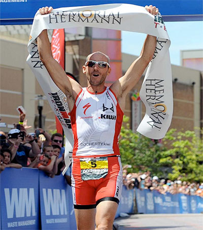Docherty Wins Memorial Hermann Ironman Texas