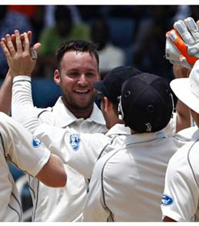 New Zealand Win Their Second Ever Test in the West Indies