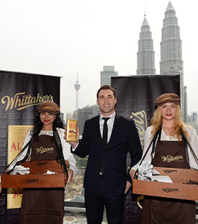 Whittaker's Chocolate Officially Enters Malaysian Market