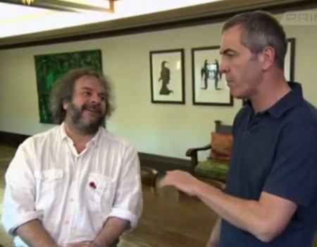 Peter Jackson talks to James Nesbitt About NZ Film Industry