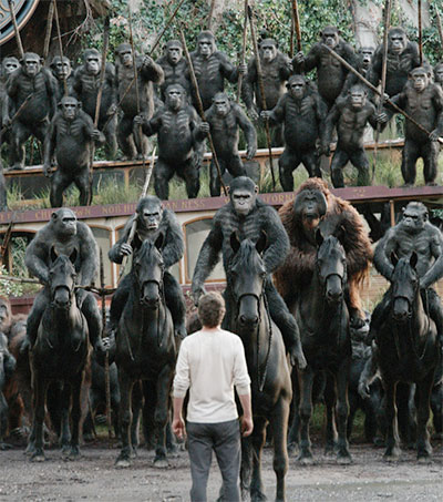 Planet of the Apes Sequel Motion Rapture by Cinematographer Michael Seresin