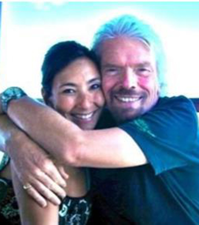 Richard Branson Hosts New Zealand Scientist on Private Island