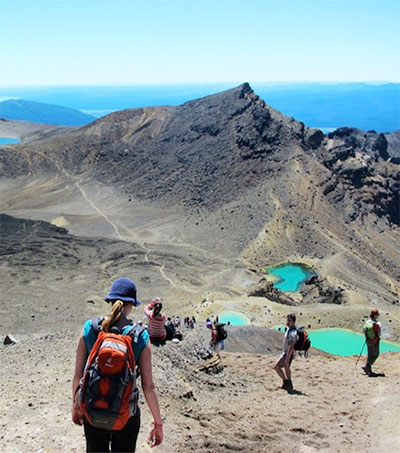Tongariro National Park Running to Its Own Geological Beat