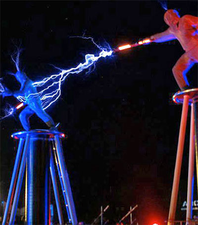 Lords of Lightning Electrify Newcastle Skies