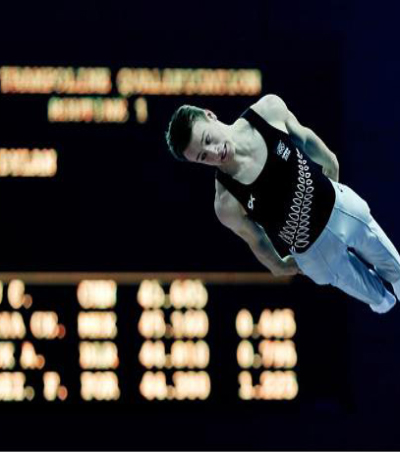 Schmidt Wins New Zealand's First Olympic Medal in Trampoline