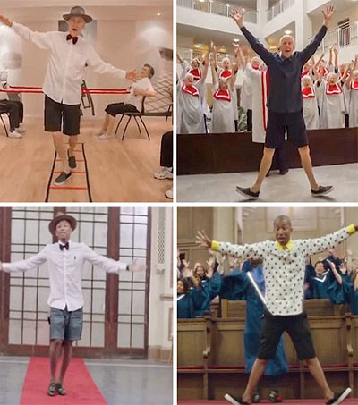 Retirement Village Residents Film Perfect Pharrell Williams Parody