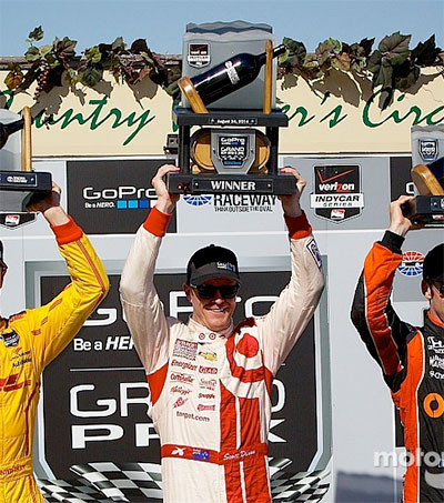 California Victory Brings Scott Dixon's Career Wins to 35
