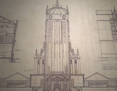 History of The University of Auckland's ClockTower