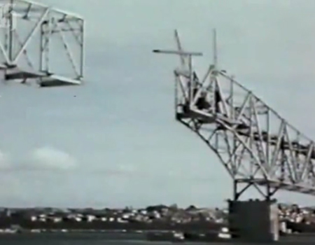Building the Auckland Harbour Bridge