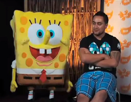 Behind the scenes of Te Reo SpongeBob